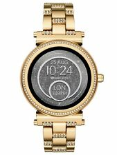 Sealed Michael Kors Access Gold Unisex Sofie Stainless Steel Smart Watch MKT5023