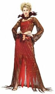 Womens Sexy Devil FLAME GODDESS Halloween Rubies Costume Size Large 14-16
