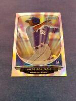 JORGE BONFIACIO 2013 BOWMAN CHROME CARD CC-KR4 ROYALS (ROOKIE REFRACTOR) MINI
