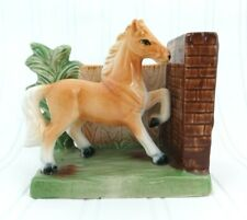 VINTAGE HORSE BOOKEND Made by Chase Ceramics in Japan