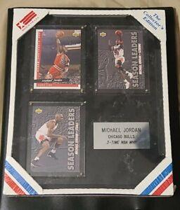 "1993 Collector""s Edition Sealed COA Michael Jordan Chicago Bulls 3 Time NBA MVP"