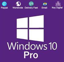 Windows 10 Pro 32/64-Bit Key Download Activation For 1 PC Genuine