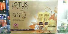 Lotus Herbals Radiant Gold Cellular Glow Facial Kit 170gm + Free Shipping | - UK