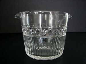 Antique Georgian Wine Rinser Cut Glass Crystal Ireland England ca.1830s