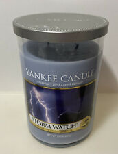 Yankee Candle Storm Watch Large Tumber 2 Wick Burned Once Rare and Hard to Find