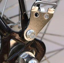 steel hanger set for touring bike BAGS, paniers, rear rack hook's set