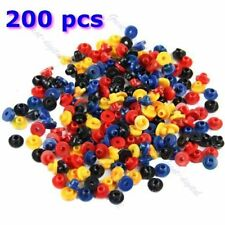 200 PCS Multi-Color Rubber Grommets Nipples For Tattoo Machine Needles Supplies
