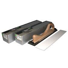 200 Schleifpapier + Handfeile 70x400mm Handschleifer Schleifklotz INDASA P80,120
