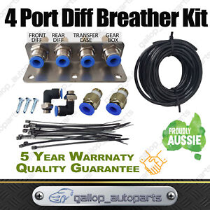 Breather Kit 101 4 point diff gearbox fit for Nissan Patrol GU GQ universal