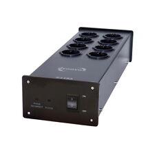 Dynavox X4100 schwarz HiFi Steckdosenleiste mit Netzfilter / Noise Filter (OVP)