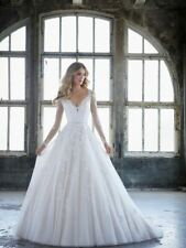 Mori Lee 8225 Size 12 GENUINE Wedding Dress Ivory With tags
