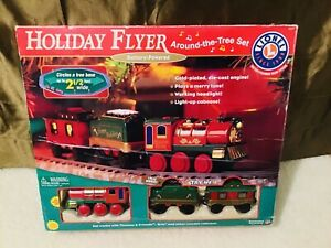 Lionel Holiday Flyer Around the Tree Train Set 2002 **NEW OPENED BOX**