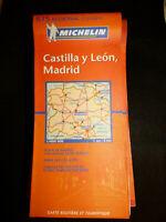 Carte michelin orange 575 espagne castilla y leon madrid 2010
