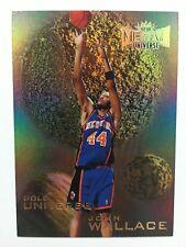 1997-98 Metal Universe John Wallace Gold Universe Basketball Card #5GU