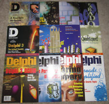 Lot of 12 Vintage DELPHI INFORMANT Magazines 1997 Vol. 3 COMPLETE/Full Year RARE
