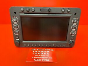 ALFA ROMEO 159 AUTORADIO POSTE CD GPS NAVIGATION REF 156068727