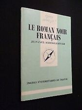 Il Romanzo nero francese