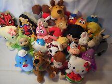 Lot 25 Small Plush Animals Pokemon Poobah Berenstain Sesame Einstein Scooby
