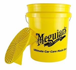 Meguiars Meguiar's Bucket + Grid Guard Detailing Car Wash