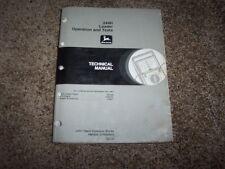 John Deere 244H Loader Operation & Test Service Repair Technical Manual TM1628