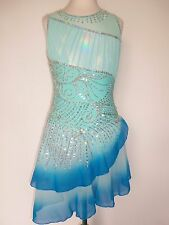 CUSTOM MADE TO FIT NEW DANCE ICE SKATING DRESS
