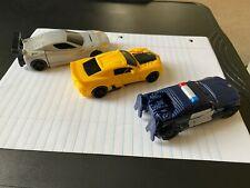 Transformers Cogman, Barricade and Bumblebee Lot