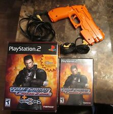 Time Crisis Crisis Zone + Guncon 2 Sony PlayStation 2 2004 PS2