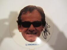2014 ARIE LUYENDYK signed HONDA FAN INDIANAPOLIS 500 PHOTO CARD INDY CAR RACING