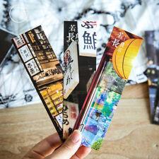 30pcs/Box Japanese Creative Bookmark Book Mark Magazine Label Memo Organizer #BT