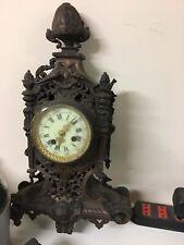 orologio antico da tavolo Da Camino Da Restaurare