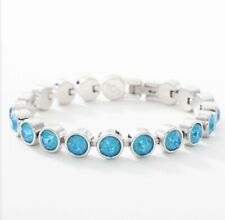 Touchstone Crystal Swarovski Laguna Delight Ice Bracelet BNIB ON SALE $60