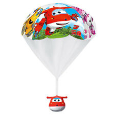 Kids Outdoor Toy Hand Throwing Cartoon Super Wings Jett Parachute Kite Games