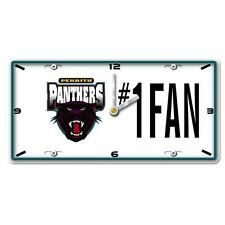 NRL PENRITH PANTHERS License Number 1 Fan Plate Metal Clock Man Cave Christmas