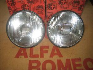 New, Alfasud, Ti, 1974-81, 2x,Pair, Inner, Headlamps/Headlights/Sprint/33/S1/S2