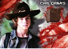 The Walking Dead Survival Box Costume Relic Chandler Riggs As Carl Grimes