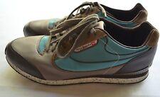 Diesel Aramis Men's Textile/Leather Brown/Teal  Sneakers Size 12