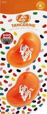 1 x Twin Pack 3D JELLY BELLY Clip Vent DUO Bean Gel TANGERINE Air Freshener