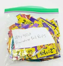 """LOT of 420 Swisher Sweets Cigarillos """"FOIL RIPS in a ZIP"""" Cannabis Artist Art"""