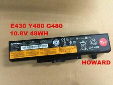 New Original Lenovo E430 B490 E530 Y480 Y580 G480 45N1043 L11S6Y01 battery 75+