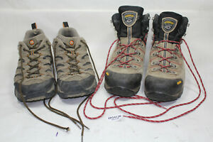 Asolo hiking boots & Merrell shoes size 14 13 mountain adventure used EP24126