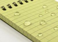 Notizblock wasserfest Outdoor Block Geocaching Schreibblock Tauchen Segeln Regen