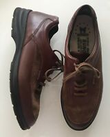 Mephisto Brown Leather Derby Oxfords Shoes Lace Up Brown Mens Size 9.5 US