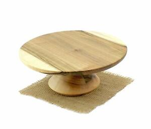 Rustic Wooden Cake Stand | Cupcake/Pastry Stand | Dessert Stand | Cake Pedestal