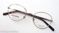 Calvin Klein Pantobrille Metall Kunststoff dezent kupfer braun Brillen Grösse M.