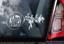 The Who - Car Window Sticker - Rock Band Music Sign Art Decal Gift Mod - V02