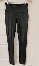 Spanx Faux Leather Leggings Trousers - Medium - Used