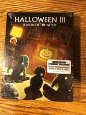 Halloween III 3 Season Of The Witch Steelbook Blu-ray Limited RARE HORROR NEW