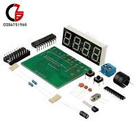 Digital 4 Bits AT89C2051 Electronic Clock Electronic Production Suite DIY Kits