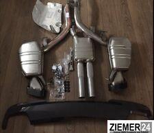 Original BMW F10 m550d Auspuffanlage Auspuff Endschalldämpfer Diffusor Mpaket M