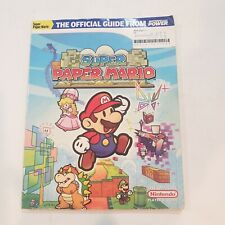 Super Paper Mario Wii The Official Player's Guide from Nintendo Power (2007)